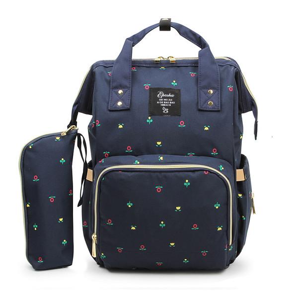 Sac à dos de stockage de mode 4 Designs Multi-function Storage Bag 27 * 21 * 42CM Grande Capacité Bébés Couches Sacs Oxford Tissu Sacs 20 Lots DHL