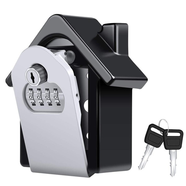 IALJ Top Key Lock Box,[Emergency Key] Wall-Mounted Combination Key Security Storage Lock Box And Emergency To Prevent Forg