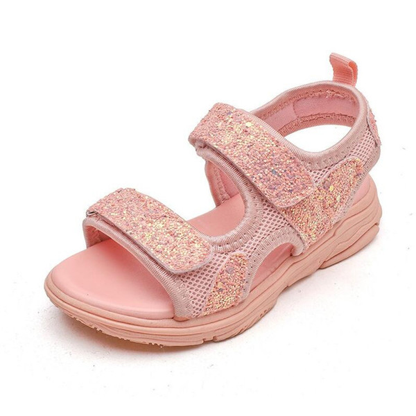 Summer Cheap Flower Sandal Girls New Shoe Child Baby Fashion Sandals Beach Outdoor Sports Sandals Size 21 - 36 Children Shoes Girl