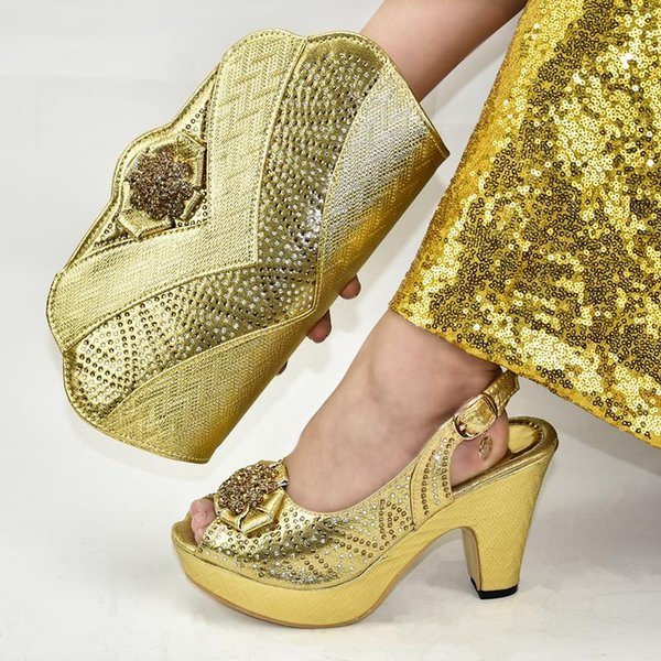 Yeni Moda Ayakkabı Çanta Seti Kadınlar 2020 Kadın pompaları Düğün Tasarım Lüks Ayakkabı için Bag Eşleştirme ile Parti Kadınlarda İtalyan Ayakkabı için