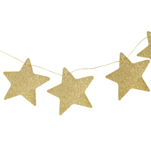 2018 Kids Baby Room Decoration Stars Hanging 2 Colors Parties Birthday Children's Rooms Mosquito Nets Wall Window for New Years