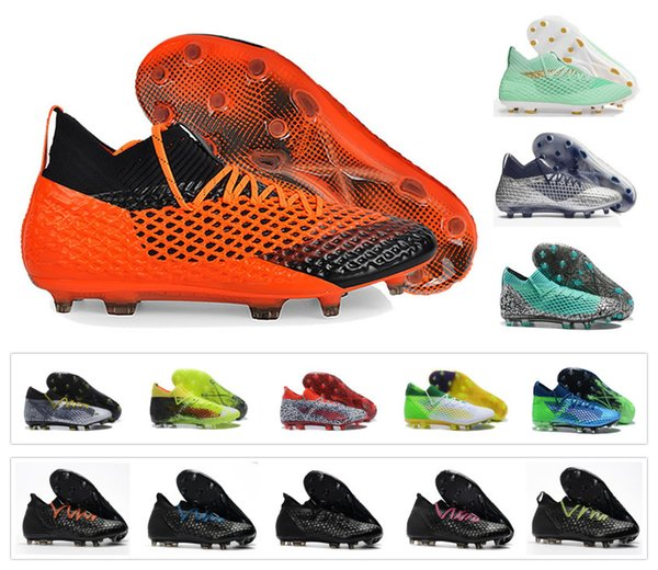 New Griezmann Reus FUTURE 2.1 NETFIT FG/AG Suarez Griezmann 18.1 Netfit off FG hyFG Spike Mens Football Shoes Boots Cleats