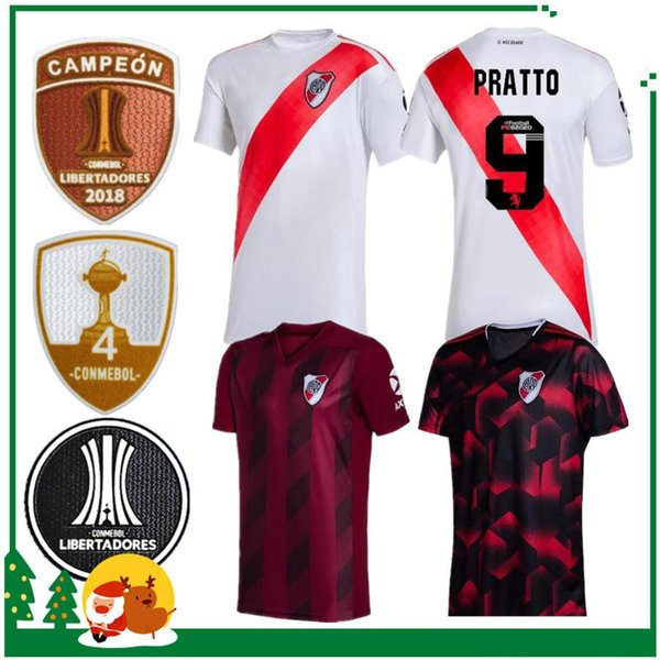 Home Plate 2020.2019 1920 River Plate Home Away White Soccer Jersey 2019 2020 Riverbed River Plate Home Soccer Shirt 2020 Customized Football Uniform Sales From