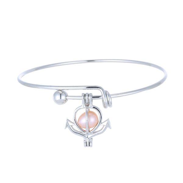 Bracciale con ciondolo perla gabbia Bracciale con con perla con perla mix 7 Disegni Bracciale lava intercambiabile 6-8mm Bracciale con profumo proprio bracciale