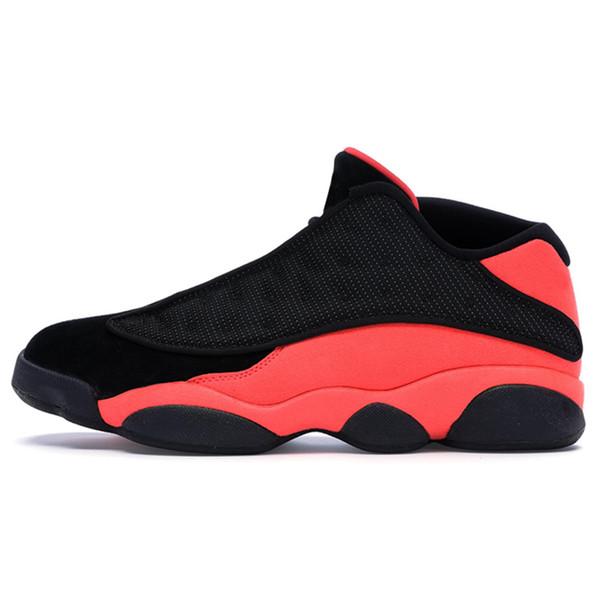 13 Clot Black Red 40-47