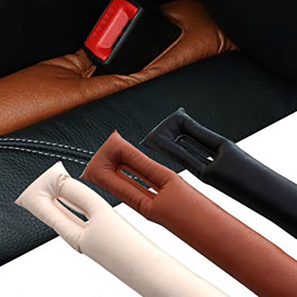 1pcs Car Anti-dirty Pad Faux Leather Car Seat Pad Gap Fillers Holster Spacer Filler Padding Interior Seat Gap
