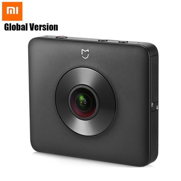 Xiaomi Mi Küre 360 Panorama Kamera 23.88MP Mijia Kamera Ambarella A12 3.5K Video Kaydı WiFi Küresel Sürümü