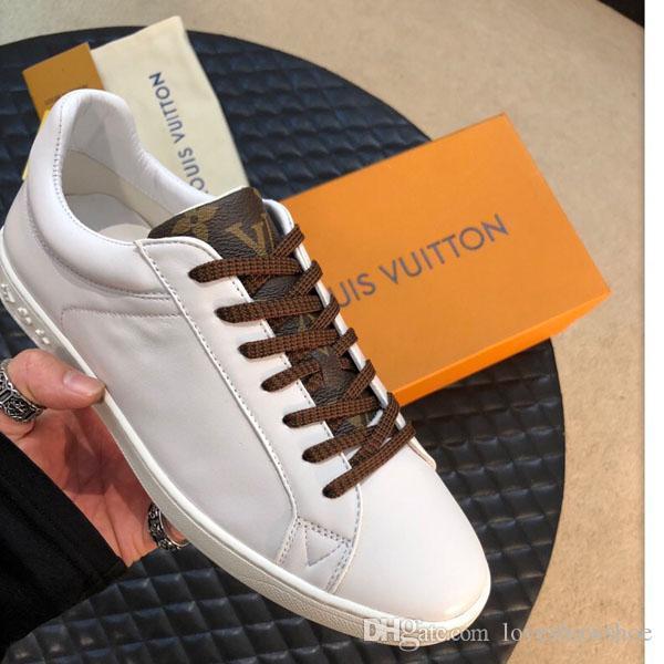 scarpe classiche degli uomini di moda a basso-top scarpe da basket in pelle stampata per gli uomini superstar formazione scarpe outdoor con la scatola e la polvere ba