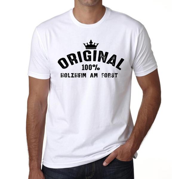 Tshirt originale Holzheim Am Forst, maglietta Homme Blanc, maglietta Cadeau, nuovo Tee Top Geschenk stampa di alta qualità