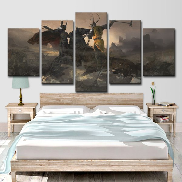 2019 Hd Print Canvas Art Game Of Thrones Painting Home Decor Game Canvas Painting From Print Art Canvas 16 41 Dhgate Com