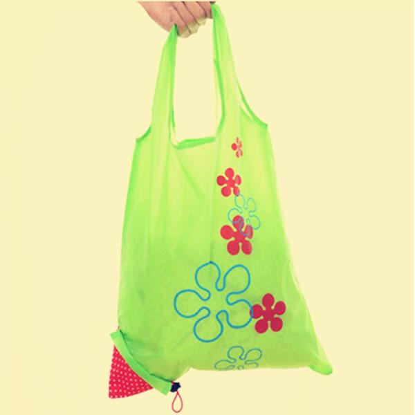 Eco Shopping Voyage épaule Sac Pochette Sac à main pliable Sacs réutilisables