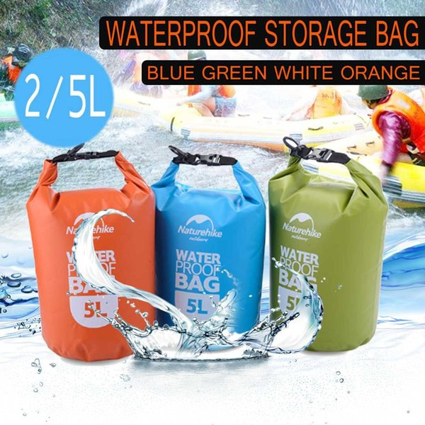 best selling Camping Water Bags Dry Bag Waterproof 2L 5LOutdoor Ultralight Dry Bags Sacks for Hiking Traveling