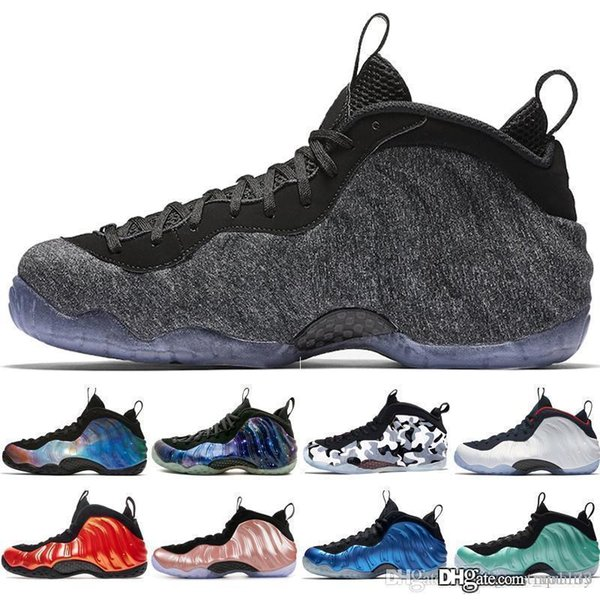 Alternate Galaxy 1.0 2.0 Olympic Penny Hardaway Black Metallic Gold Mens Basketball Shoes foams one men sports sneakers designer trainers
