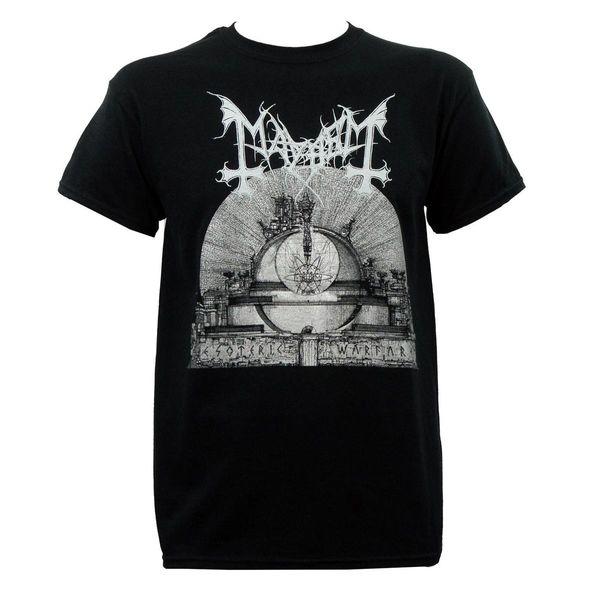 Authentic MAYHEM Band Esoteric Warfare Album Art T-Shirt S M L XL 2XL 3XL NEW Good Quality Brand Cotton Shirt Summer Style Cool Shirts