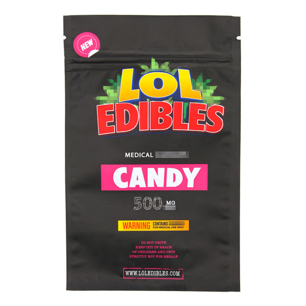best selling Medibles gummy candy bag LoL edibles candy bag Connected Blue Cookies Jungle Boys Bags Runtz Mylar Zipper bags