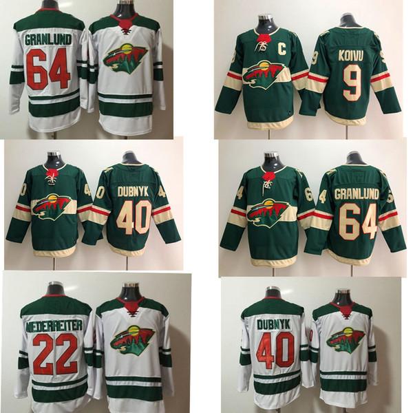 2019 Wholesale Minnesota Wild Hockey Jerseys 20 Ryan Suter 11 Zach