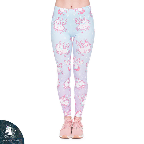 New Women Girl Tight-fitting Pants Sports Yoga Pants Leggings 3D Digital Printing Autumn and Winter Girl Ladies Female