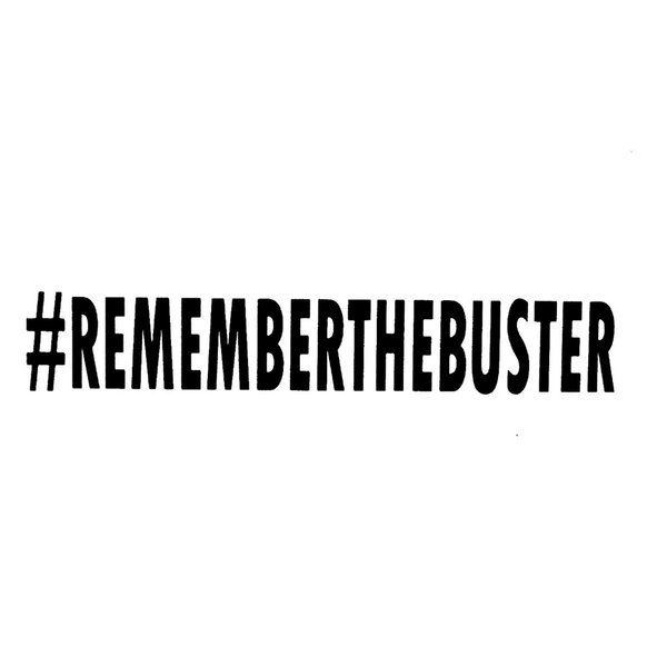 Remember the buster Accessories Motorcycle Helmet Car Styling Car Sticker Checkered Flags Windshield Sticker