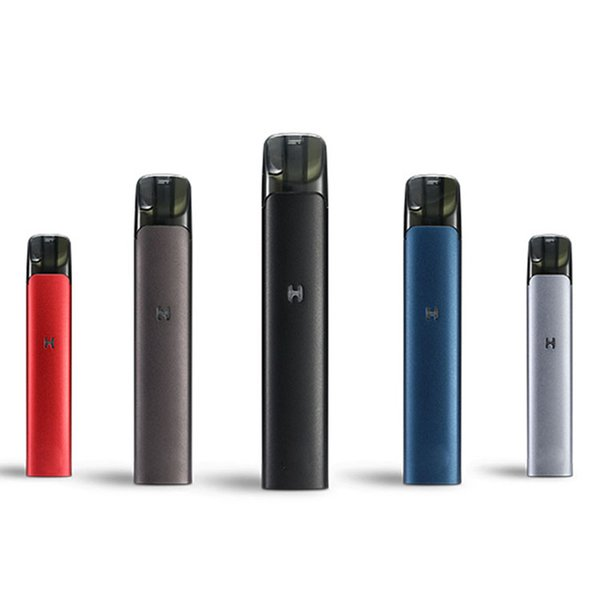 2019 new arrival e- cigarette 400mAh super thin mini Oil herb Vaporizer Factory cheap high quality dry herb vape pen with pods