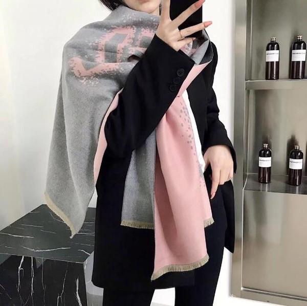 New Arrival 2019 Designer Scarfs ScarfShawls Brand Famous Designer Cashmere Autumn Winter Style Womens Scarves Wraps Size180x70cm TM30