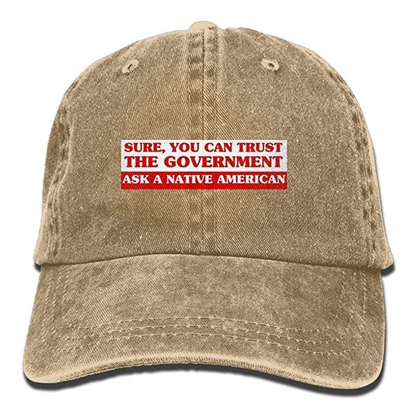 47067e8e 2019 New Wholesale Baseball Caps Sure You CAN Trust The Government Mens  Cotton Adjustable Washed Twill Baseball Cap Hat