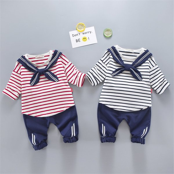 quality boys clothes sets spring autumn new fashion children boys clothing sets kids striped t-shirt+pants tracksuit for boys