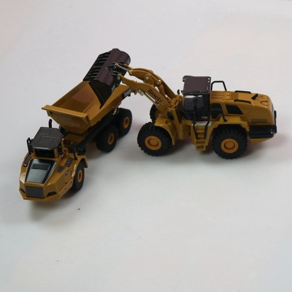 Loader and truck
