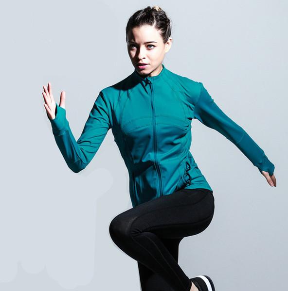 Весеннее и осеннее женское спортивное пальто 2019 Уникальный дизайн манжеты большого пальца легкая дышащая куртка 0336