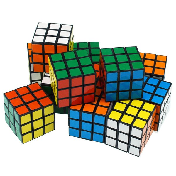 best selling Intelligence toys Cyclone Boys Mini Finger 3x3 Speed Cube Stickerless Finger Magic Cube 3x3x3 Puzzles Toys wholesale