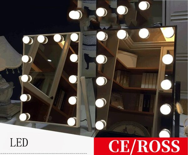 Led Makeup Mirror Light Bulb Dressing Table Lights Stepless Dimmable Wall Lamp 10 Bulbs Decor Dc 12v Or Usb 5v Interior Design Home Interior Design