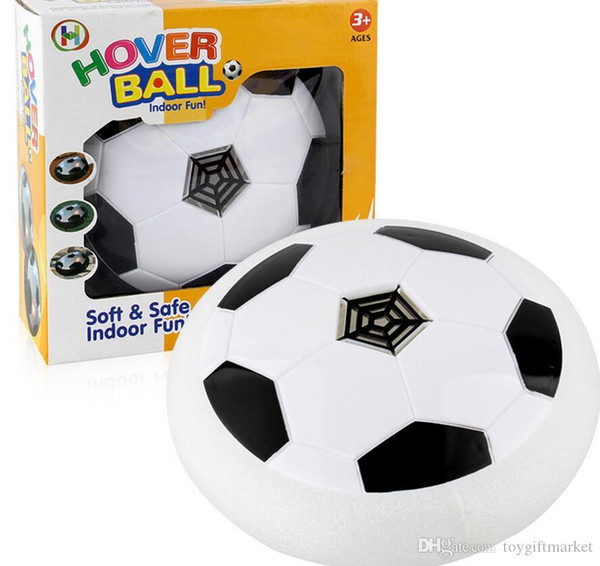Air Power Football Football Garcons Filles Sport Enfants Jouets d'entraînement de football Intérieur disque extérieur Hover jeu de balle avec