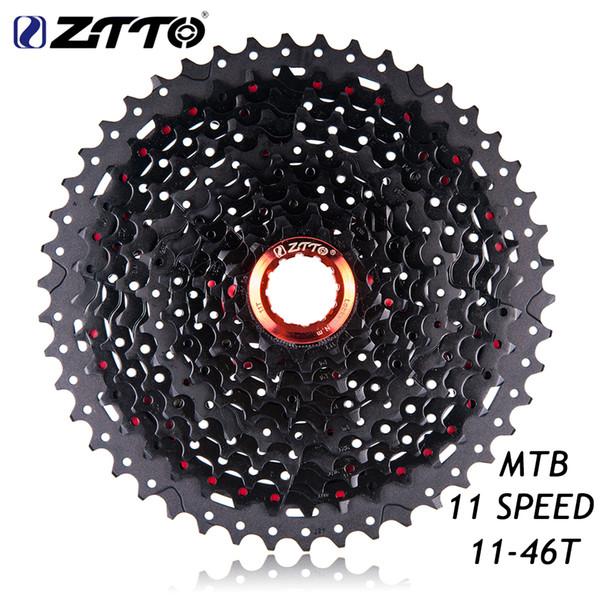 ZTTO 11Speed 11-46T Black&Red Freewheel Cassette MTB Mountain Bike Bicycle Parts for Parts XT SLX M7000 M8000 M9000 K7