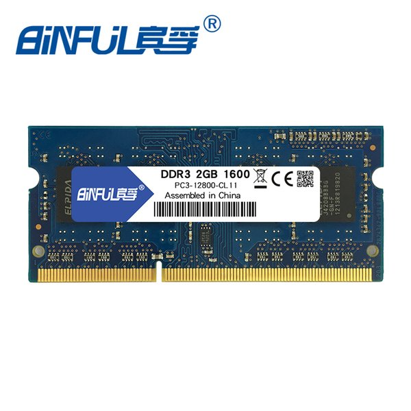 ddr3 2g Binful Brand New Sealed DDR3 2G 1600MHZ PC3 -12800 Notebook/Laptop RAM Memory notebook Lifetime warranty