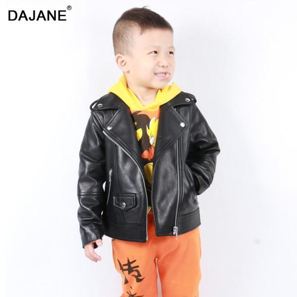 nature sheep skin leather motorcycle jacket genuine leather men child wear coat