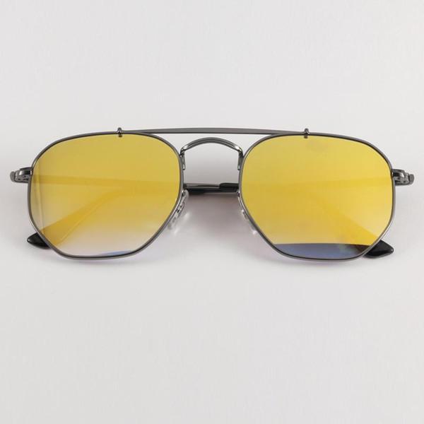 004 / I3 gradiente de flash de bronce de cañón-amarillo