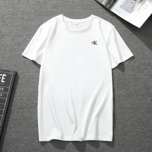 18ss t-shirt Mens T Shirts Sommer Lässige Kleidung Kurzarm Baumwollmischung Klassische Männer Krokodil marke T-shirt Hohe Qualität Marke