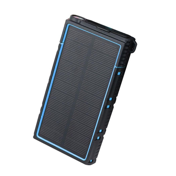 Waterproof External Battery Charger Solar Power Bank for Mobile Stylish design with distinctive look. Phone