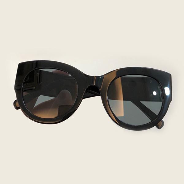 Оптовая солнцезащитные очки Женщины Марка дизайнер высокое качество с коробкой ацетат рамка UV400 объектив с коробкой женские солнцезащитные очки оттенки