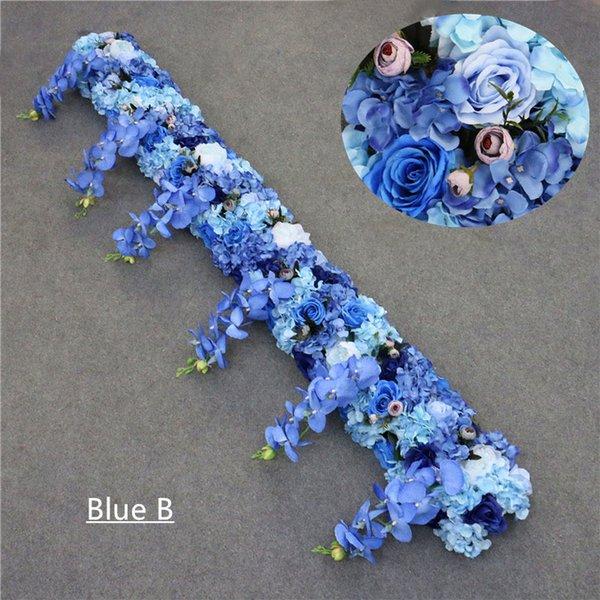 파란색 B