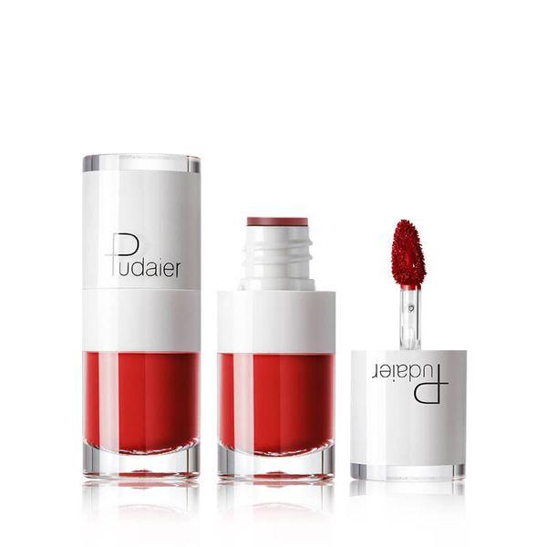 New Fashion Rossetto in bottiglia bianco Lucidalabbra 16 colori Affascinante labbra Trucco labbra Liquido