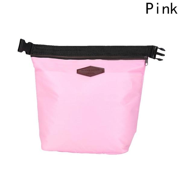 Nuovo sacchetto di pranzo portatile pacchetto impermeabile termica di raffreddamento isolato lunch box portatile di immagazzinaggio di tote borse da picnic 5 colori
