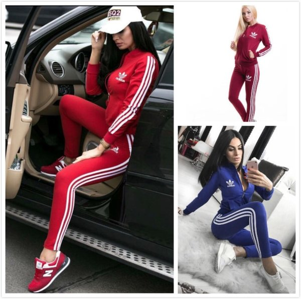 best selling Womens designer jacket legging outfits 2 piece set tracksuit outerwear tights sport suit long sleeve cardigan pants tracksuit hot klw2132