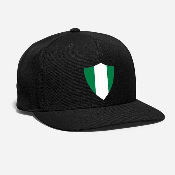 Nigeria Shield chapeau broderie football football Niiseriya emblème Afrique Championnat Armoiries drapeaux unisexe Snapback Cap