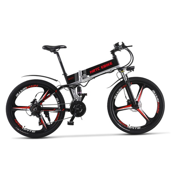 best selling 26inch electric mountain bike 48V lithium battery hidden frame 400w high speed motor max speed 42km h Soft tail Hydraulic ebike
