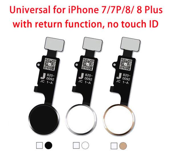 10pcs Universal-Hauptknopfflex für iPhone 7G 7 plus 8G 8 plus mit Rückkehrfunktion Lösung für Apple iPhone 7 8