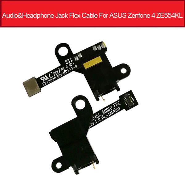 Audio Jack Headphone Flex Cable For Asus Zenfone 4 ZE554KL Z01KDA Z01KD Z01KS Earphone Jack Port Flex Ribbon Replacement Parts