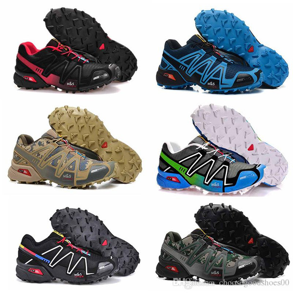 New arrivel casual Speedcross 5 CS Running for Men Black White Grey Blue Red Trainers Waterproof Athletic Sports Sneakers 7-11.5