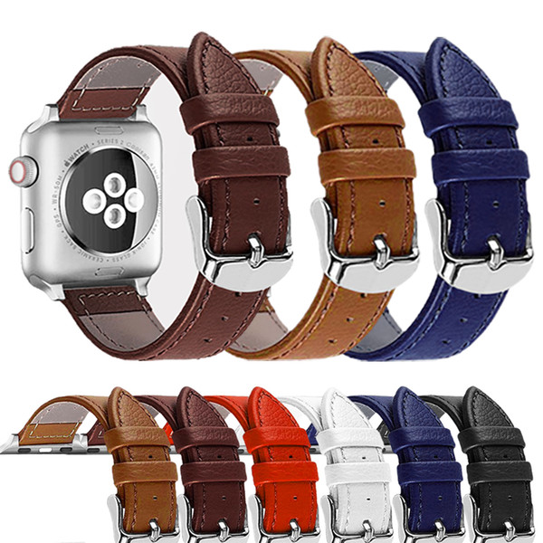 Watch Band For Apple Watch Series 4 3 2 1 Strap For Iwatch 42mm 38mm Bracelet Smart Accessories Wrist For Apple Watch Bands 44mm SH190729
