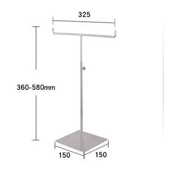 Simple Scarf Tie Display Rack High grade Stainless Steel Metal Scarf Rack Scarf Display Stand Necktie Display Rack Table Shelf