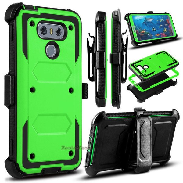 buy online 2f923 fdc94 Cover Cases For LG G6 Phone Case Protective For LG6 H872 VS988 Back Case  Hybrid Shockproof Armor Belt Clip Holster Waterproof Cell Phone Case Best  ...